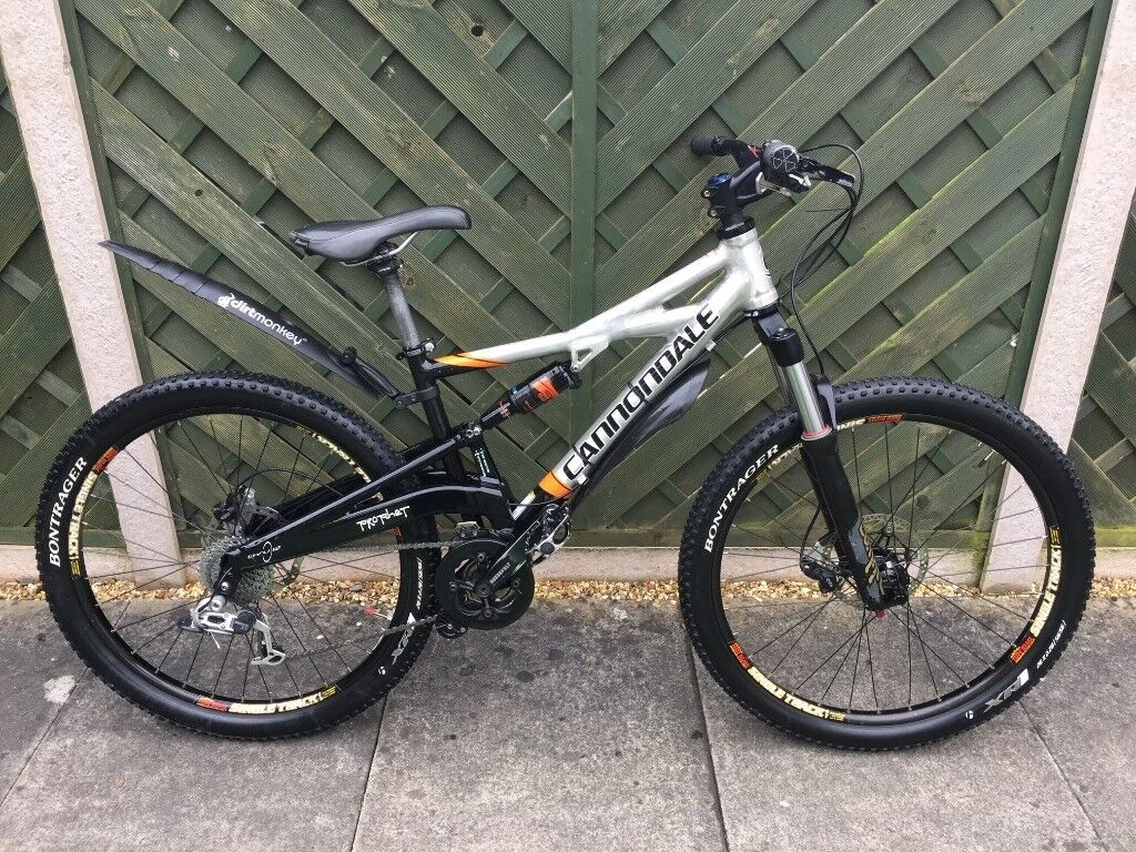 Cannondale Prophet Full Suspension Mountain Bike S M In Shefford