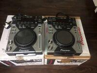 Pioneer CDJ 400 decks (pair)