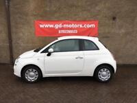 FIAT 500 1.2 pop (10) 1 YEAR MOT, SERVICE HISTORY, WARRANTY NOT AYGO YARIS C1 CORSA CLIO POLO 107