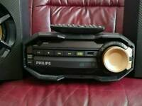 Phillips FX10 mini hi-fi excellent condition, USB, Bass Boost, Bluetooth, MP3, 230W total
