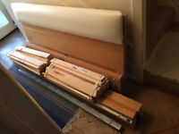 Ikea Malm Double Bed Size Wooden Bed Frame Only For Sale