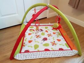 Baby play mat gym with arches