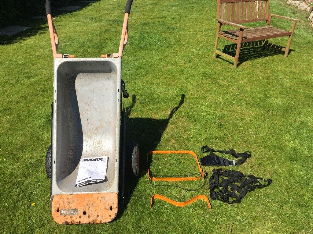 Worx Aerocart 8 In 1 All Purpose Lifter Carrier And Mover Wheelbarrow