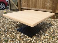 Beech Effect Coffee Table FREE LOCAL DELIVERY