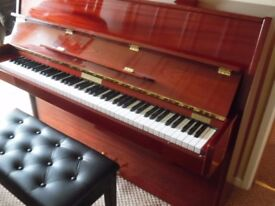 upright piano by neindorf as new