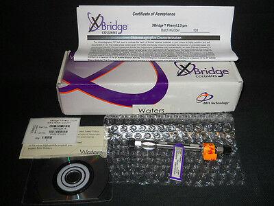 Waters Xbridge Beh Phenyl 2.5m Hplc Column 75mm X 4.6mm 186003316