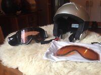 Salomon MACH2 Snowboard Helmut and Googles