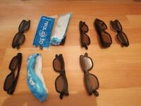 real 3d Imax 3d glasses 10 pairs