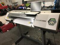 Roland vp300 printer with laminator, hard drive with motocross quad graphics/decals