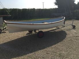 "Row boat gpr 14' x 6'8"" very stable and easy fast row .Reduced for quick sale"
