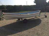 """Row boat gpr 14' x 6'8"""" very stable and easy fast row .Reduced for quick sale"""