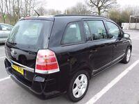 2007 Vauxhall Zafira club cdti 7 seater Black