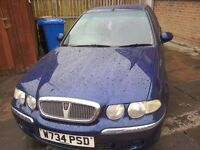 Rover 45IL 1.4 16v. 5 Door Hatchback. 2000 W reg. New Head Gasket.