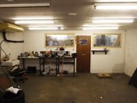 Workshop / Motorbike Garage for Rent
