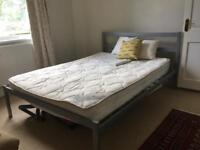 Double bed frame for grabs