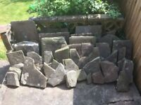 Reclaimed York Stone paving slabs - Bishopston