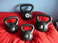 Kettlebells. Vinyl Kettlebells - Fat Loss Muscle Gain