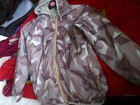 K-way reversible jacket medium mens