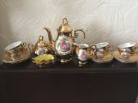 Vintage coffee set
