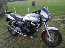 Honda CB400 Super Four R for sale. very fast light bike, sports commuter