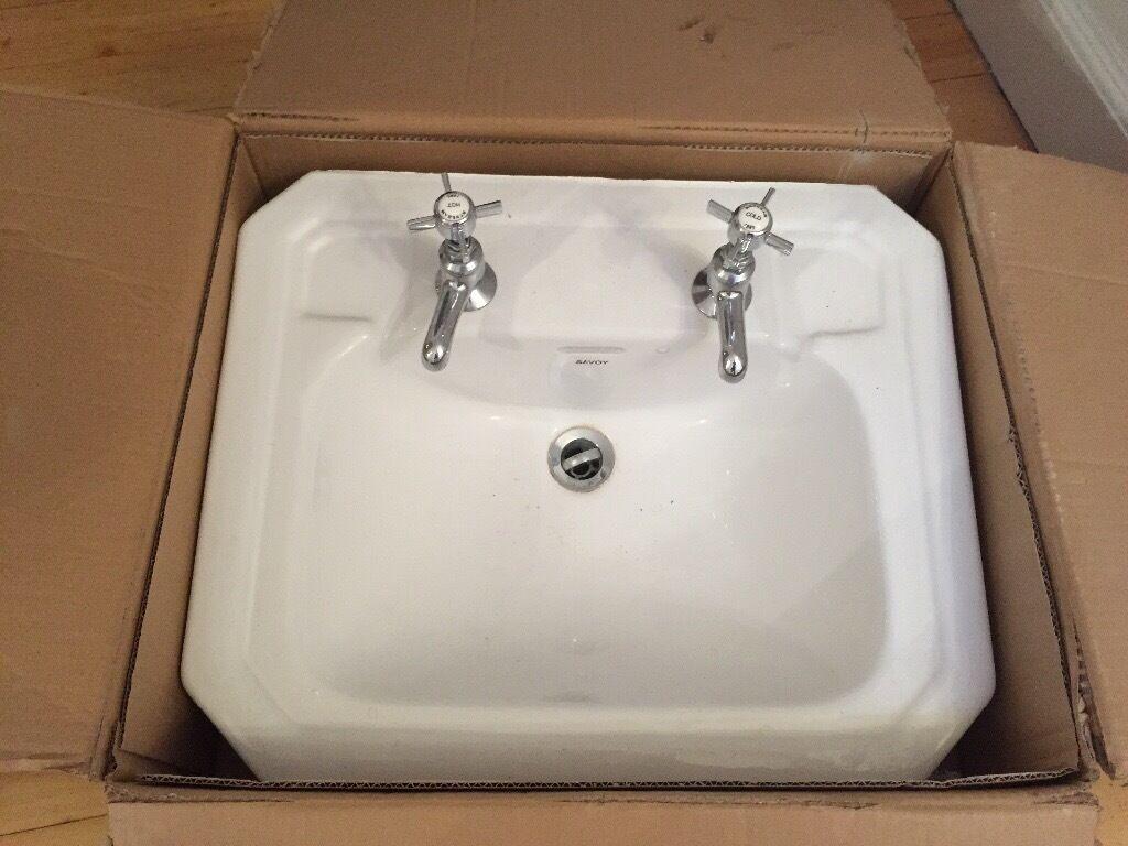 Bathroom Sinks Edinburgh savoy basin and bensham taps | in murrayfield, edinburgh | gumtree