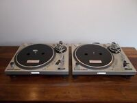 GEMINI PT2000 TURNTABLES/ NEAR TECHNICS 1210/1200 PERFORMANCE LOW COST/UK DELIVERY/STOCK CLEARANCE