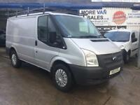 2012 silver 1 owner ford transit t300 swb 6 seat crew van 2.2 tdci 100bhp 6 speed px welcome