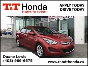 2015 Hyundai Elantra GL*Heated Seats, Local Car, No Accidents*