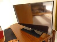 """BLACK SAMSUNG 32"""" UE32F5000AK LED TV WITH REMOTE EXCELLENT CONDITION"""