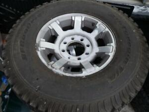 2 USED HUMMER H2 OEM RIM & TIRE - 17 INCH -2 ONLY