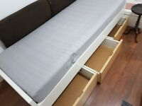 Ikea single bed with 3 drawers. Used but in good condition. Colection only