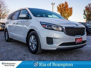2017 Kia Sedona LX+. 8-PASS. CAMERA. BLUETOOTH. POWER SEATS