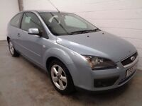 FORD FOCUS , 2007 REG , ONLY 55000 MILES + HISTORY , LONG MOT , FINANCE AVAILABLE , WARRANTY