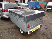 FULLY GALVANISED STEEL 5 X 4 X 2+ BOX TRAILER (BESPOKE CAMPING TRAILER)....