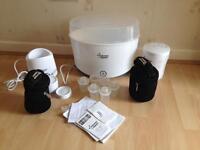 Tommee tippee steriliser kit & Electric bottle warmer