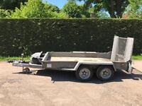 Ifor Williams 3.5 tonne 10x5'4 plant trailer