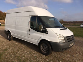 FORD TRANSIT 2.4 TDCI 2009 - LONG WHEEL BASE / HIGH ROOF - 6 SPEED - DRIVES SUPERBLY - NO VAT!!!!!!!
