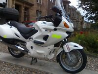 honda deauville 650 low milage lots of extras