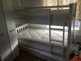2 6 MONTH OLD IDENTICAL BUNK BEDS FOR SALE
