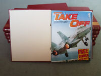 Complete 'Take-Off' aviation magazine collection (All 132 issues)