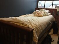 LOVELY WOODEN SINGLE BED - PICK UP FROM SELLER