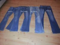 4 Prs ladies jeans Replay/MissCoco/Parisian/Couture £10 4ALL - Chatham