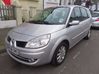 2008 Renault Grand Scenic 2.0 Petrol VVT Dynamique 7 Seater 5dr Automatic Silver Metallic