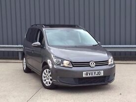 2011 Volkswagen Touran 1.6 TDI BlueMotion Tech 5dr**PAN ROOF**AUTO PARK*2 OWNER**HIGH MILES