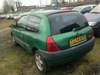 2001 RENAULT CLIO 1.1 PETROL , , CHEAP TO RUN , , EXCELLENT RUNNER , , CHEAP CAR