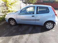 Fiat Punto 1.2 MOT failure for spares/repairs