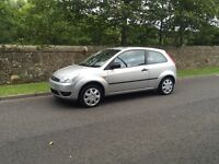 2005 Ford Fiesta 1.4 3Dr, 1 Year MOT, Low Mileage, PX, Valeted, Immaculate Bargain