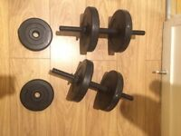 2x Dumbell rack