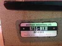 Brother B755-MK11hinestrial sewing mack