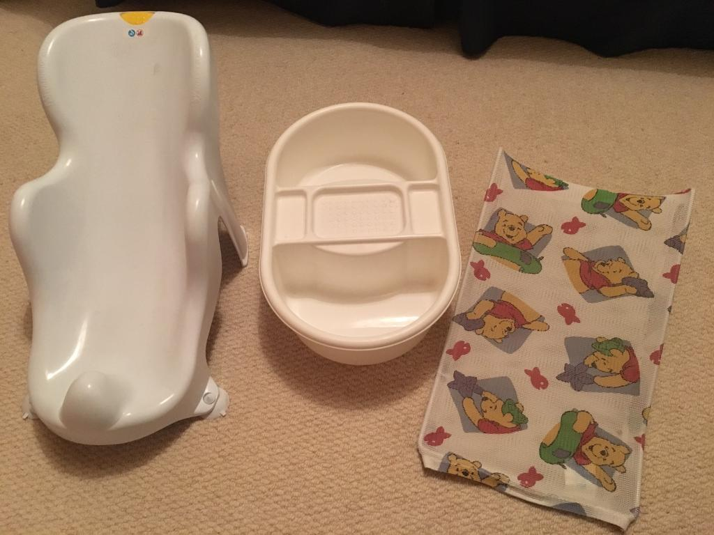 Baby bath supports and top and tail bowl | in Penylan, Cardiff | Gumtree